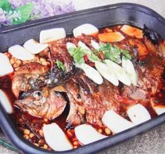 完美特色烤鱼 38元/例