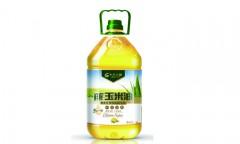 鲜榨玉米胚芽油  黑龙江非转基因大豆油  5L