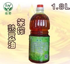 豆油 笨炸熟豆油    1.8L