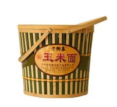 竹筒装玉米面  老街基 五谷杂粮 3kg