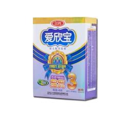 爱欣宝幼儿配方奶粉(1-3周岁) 400g