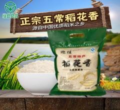 稻花香2号手提袋(绿色)  2.5kg 新米黑龙江正宗东北五常稻花香大米