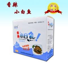 乌苏镇香辣小白鱼  480g/盒/16gX30袋 零食小吃即食小白鱼 野生天然黑龙江抚远特产