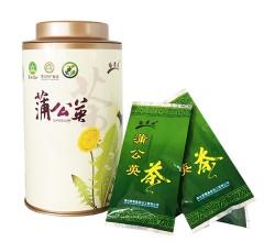 清·雅 精品 蒲公英茶 每盒15包 45g 清热去火 纯天然 无污染 纯天然野生婆婆丁茶