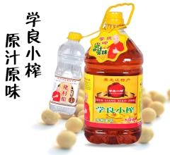 学良小榨 5L 非转基因 原汁原味 大豆油 黑龙江特产