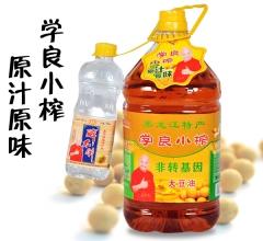 学良小榨 5L 原汁原味 非转基因 纯正东北大豆油