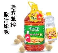 黑龙江特产 老式笨榨大豆油 5L