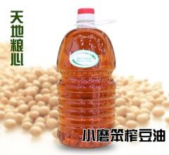 小磨笨榨豆油 2.4kg