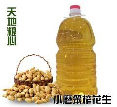 小磨笨榨花生油 2.4kg/桶