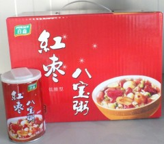 红枣八宝粥(低糖)3.5元/罐 (1*320g*12)