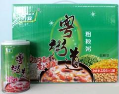 粤粥道 粗粮粥(低糖八宝粥)3.5元/罐(1*320g*12)