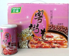 粤粥道 红豆薏仁粥(低糖八宝粥)3.5元/罐 (1*320g*12)