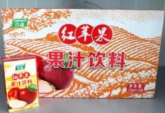 红苹果(利乐包)1.5元/盒 (1*250ml*24)
