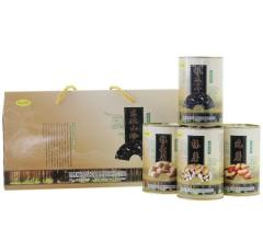 桃山黑丰 山珍礼包(榛蘑、元蘑、猴头菇各50g、秋木耳100g) 东北特产