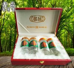 鑫淼 富硒灵芝破壁孢子粉 养生精粹 4瓶 共500g