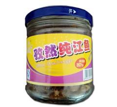 孜然纯江鱼207g休闲零食东北特产