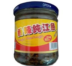 香辣纯江鱼207g休闲零食东北特产香辣食品