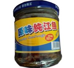 原味纯江鱼207g休闲零食东北特产