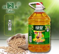 绿垦 大豆油 1L/1.8L/5L 食用油