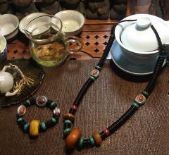 西藏老蜜蜡套装
