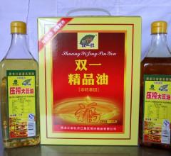 双一牌非转基因大豆油精品大豆油1l*2瓶