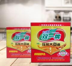 双一牌压榨大豆油传统热榨非转基因大豆油