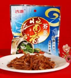 酱香芥菜100g/袋 80袋/箱 批发价:64元,零售价:80元