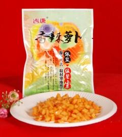 香辣萝卜100g/袋 80袋/箱 批发价:64元,零售价:80元