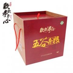 五谷杂粮精品礼盒4kg(红豆、绿豆、黄豆、黑豆、高粱米、玉米糁、糯米、黑米)