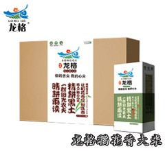 龙格稻花香大米东北绿色大米  5kg