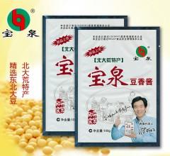 北大荒特产宝泉豆香酱优质调味酱 100g