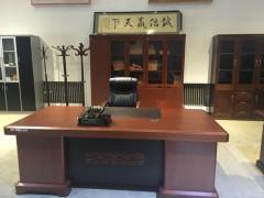 广东办公家具:2.2m板台+书柜