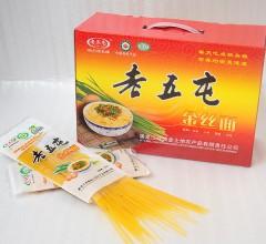 老五屯杂粮面金丝面(258g/袋*16)