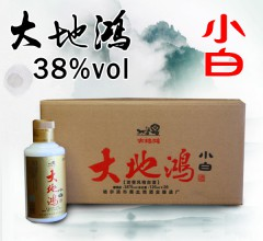 大地鸿浓香型白酒小白38°125ml/瓶