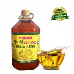 非转基因冷榨大豆油 5L*4/箱 批发