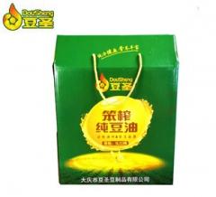 笨榨纯豆油 5LX2桶/盒