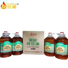 笨榨纯豆油 5LX4桶/箱