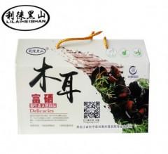 张文红  富硒黑木耳礼盒  250gx2袋/箱
