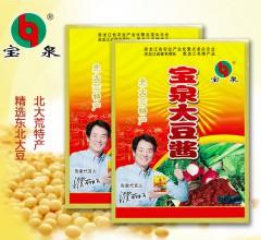 北大荒特产宝泉大豆酱优质调味酱 600g